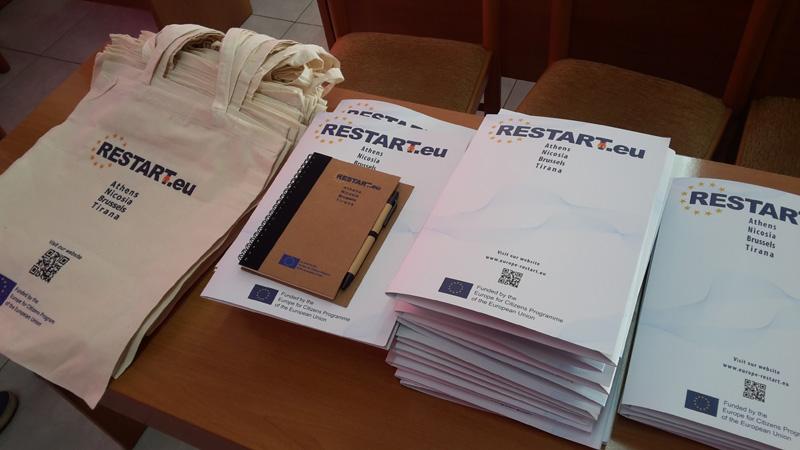 Prezantimi i Projektit RESTART