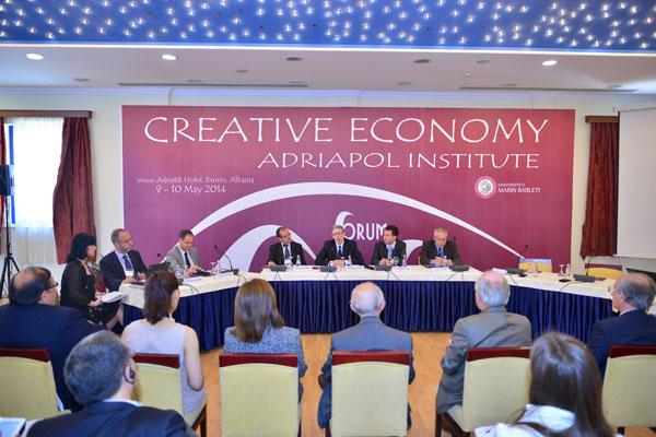 """Forumi i parë ndërkombëtar mbi """"Ekonominë Kreative"""""""